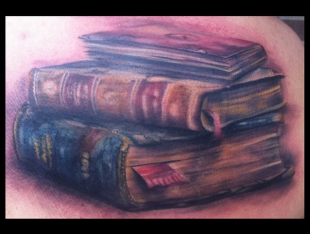 Book Literature Library Knowledge Read Abstract Watercolor Trash Gonzo Color Shoulder