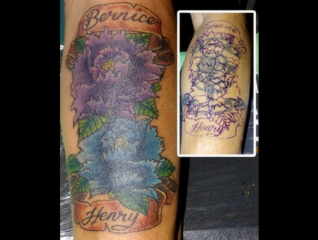 Cover Up Color Forearm