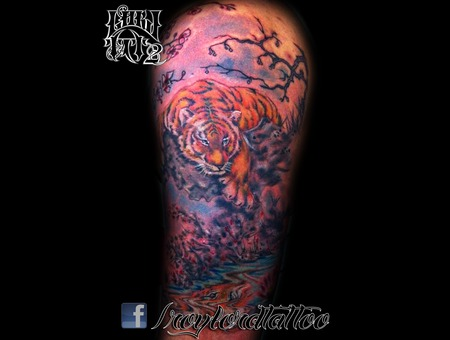 Tiger Color Arm