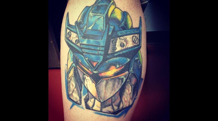 Transformers  Soundwave Color Lower Leg