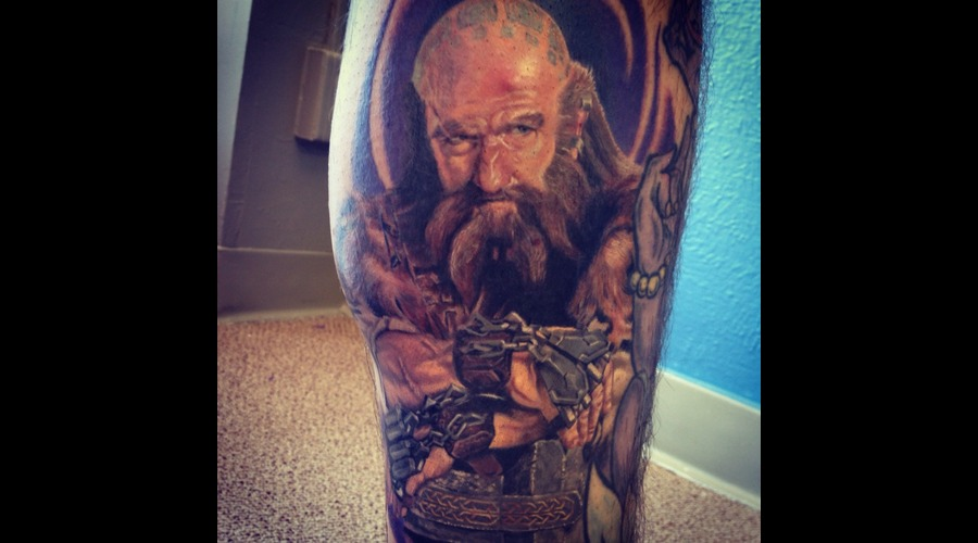 Dwalin  Hobbit  Lord Of The Rings Color Lower Leg