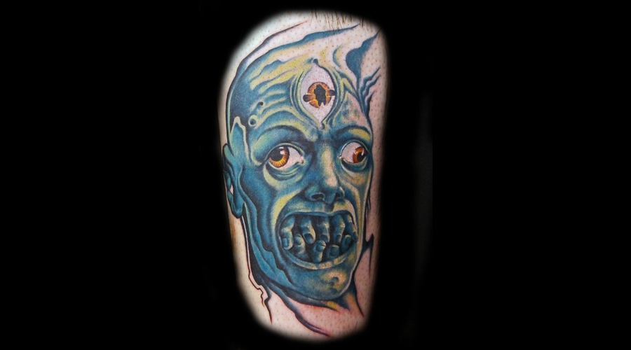 Scary  Horror Color Lower Leg