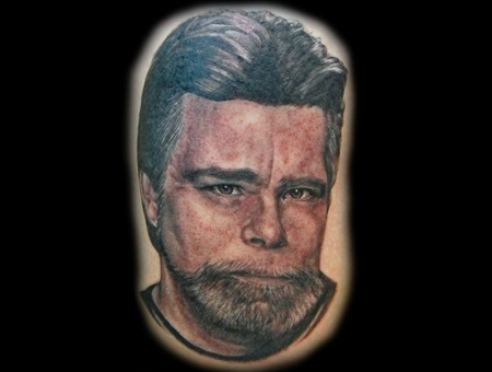 Stephen King  Horror Black Grey Thigh