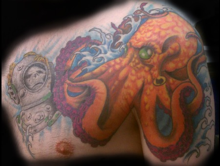 Chest Octopuss Done With Afterlife Redemption Color