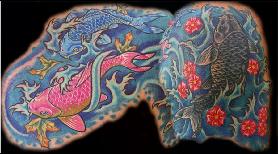 Koi  Japanese Color Chest