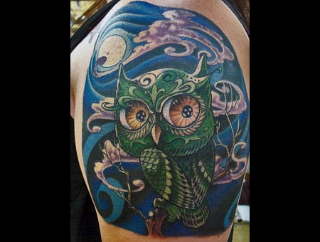Owl Color Shoulder