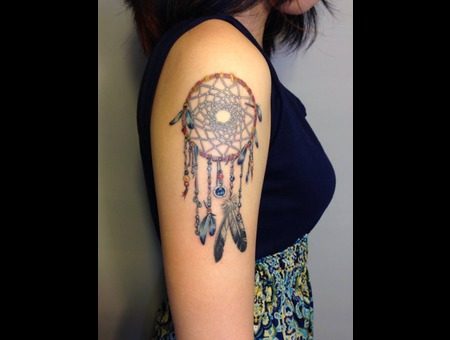Color Dream Catcher  Color Arm