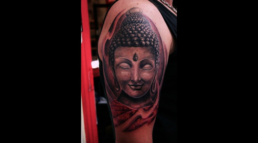 Buddha  Black Grey Arm