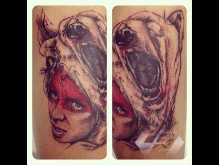 Surealism Steel72ink Bandung Indonesia Color Thigh