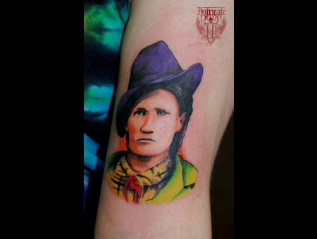 Calamity Jane Portrait Color  Popart Color Arm