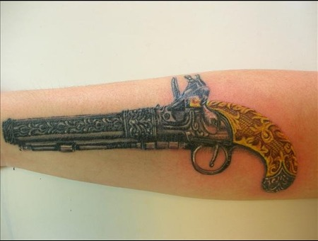 Gun Color Forearm
