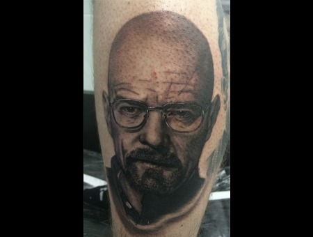 Walt  Walter White  Heizenburg  Breaking Bad Black Grey