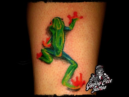 Tree Frog Color Lower Leg
