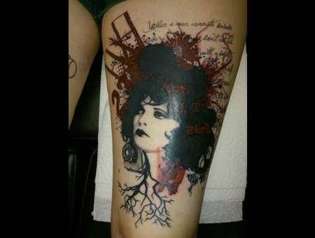 Abstract Graphical  Abstract  Clara Bow Color Thigh