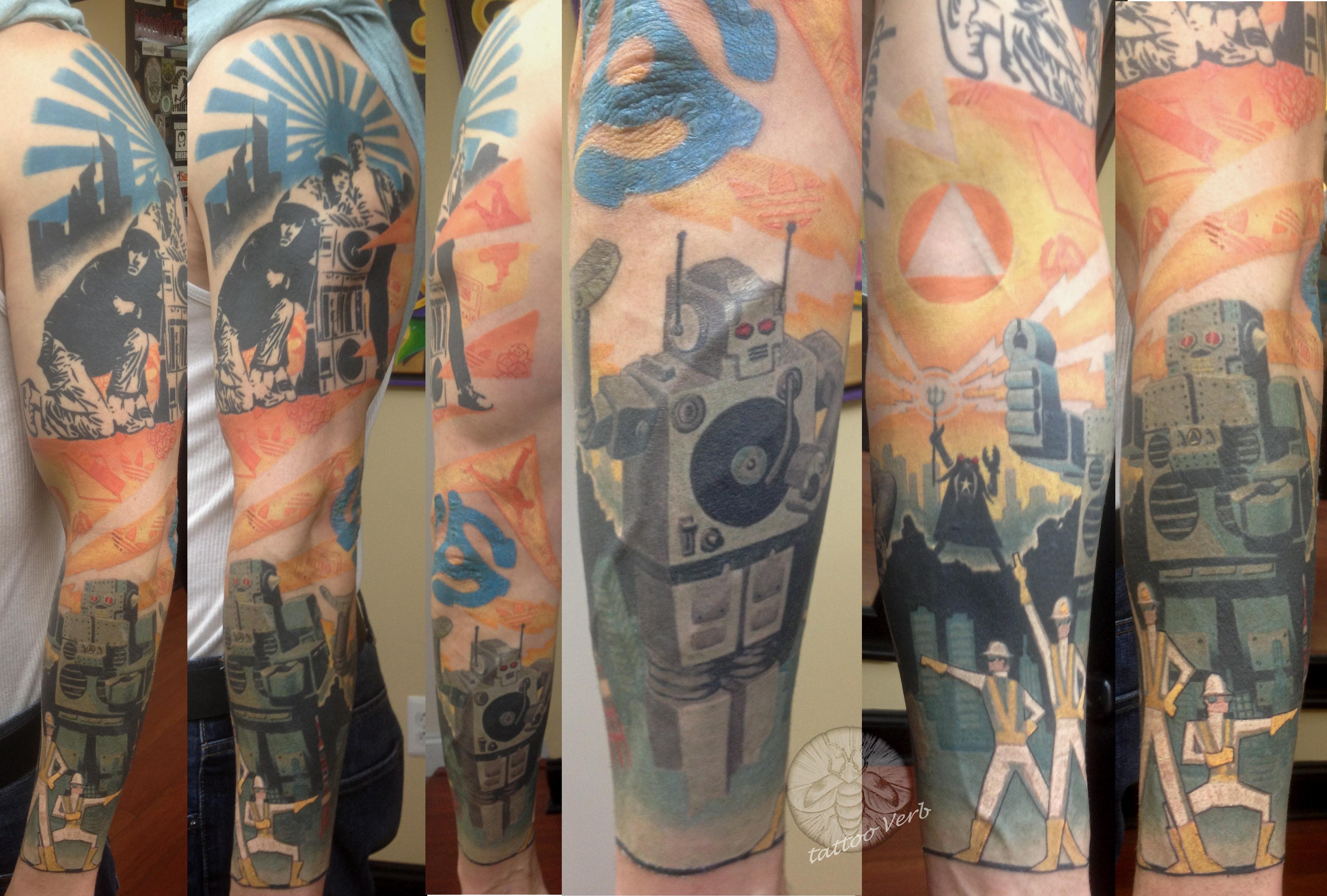 Tattoo Verb: Certified Artist