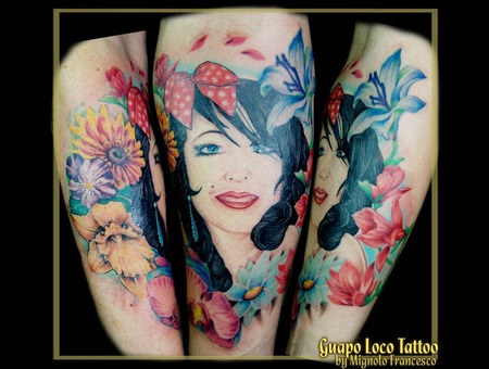 Pin Up Color Arm