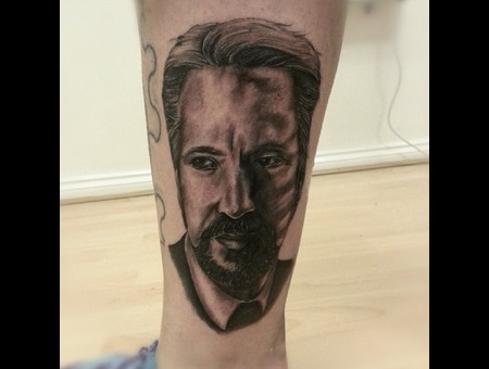 Alan Rickman  Portrait  Realism 