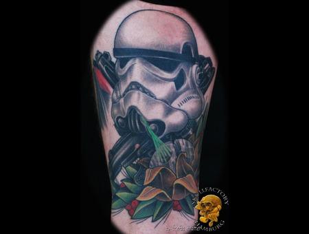 Healed  Stormtrooper  Newschool Black Grey Thigh