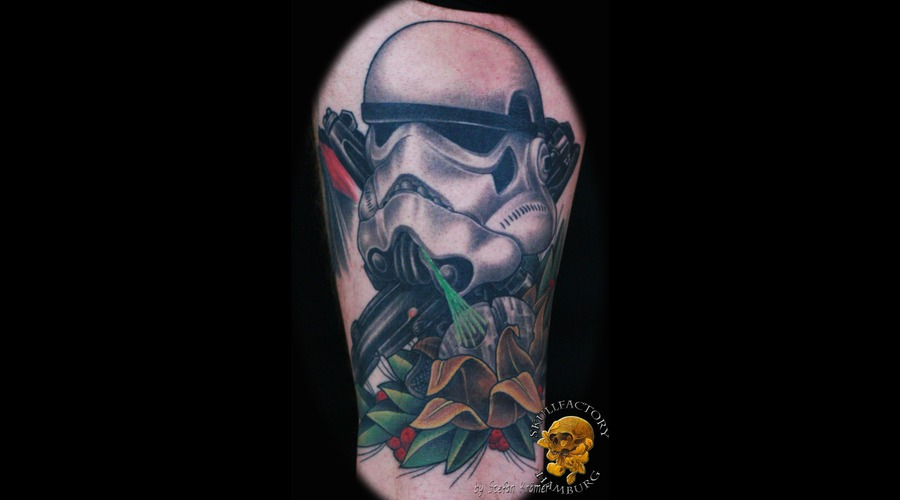 Healed  Stormtrooper  Newschool Black Grey Thigh