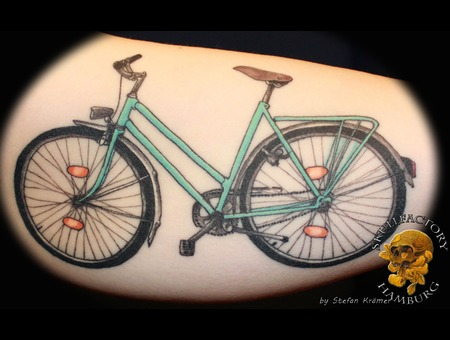 Healed  Bicycle Color Arm