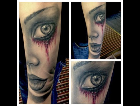 Healed  Blood  Portrait Color