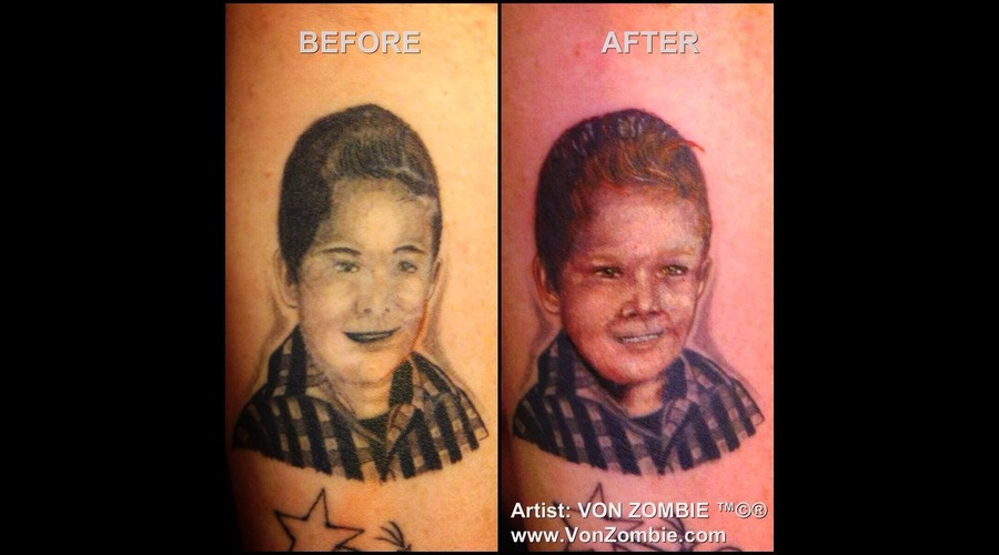 Cover Up  Realism  Portrait  Child  Color Color Forearm