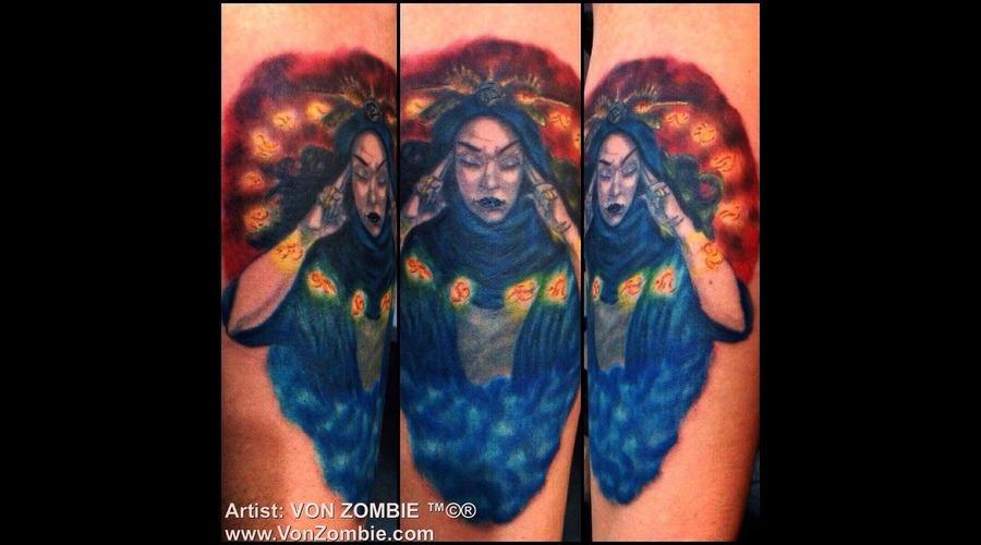 Magic  Brain  Color  Wizard  Storm  Fantasy  Mystical Color Forearm