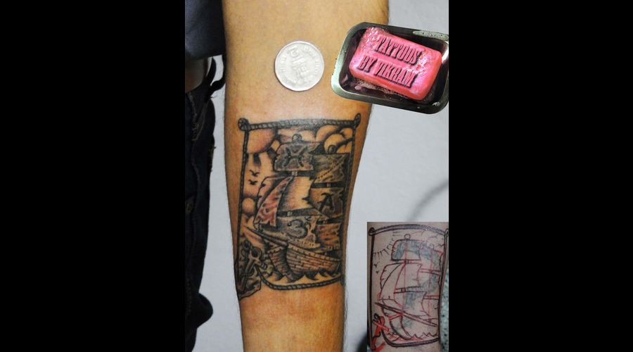 Hyderabadtattoo  Tattoosbyvikram  Tattooshyderabad  Tattoos By Vikram Black Grey