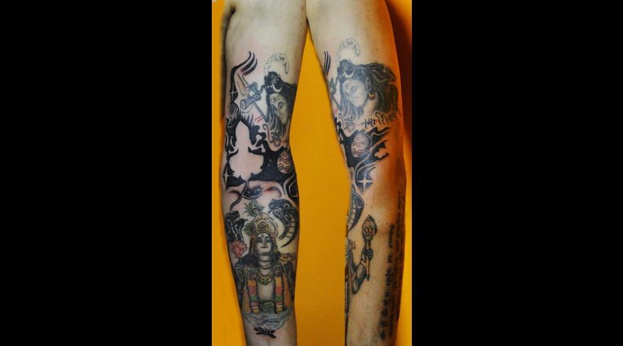 Hyderabadtattoo  Tattoosbyvikram  Tattooshyderabad  Tattoos By Vikram Color