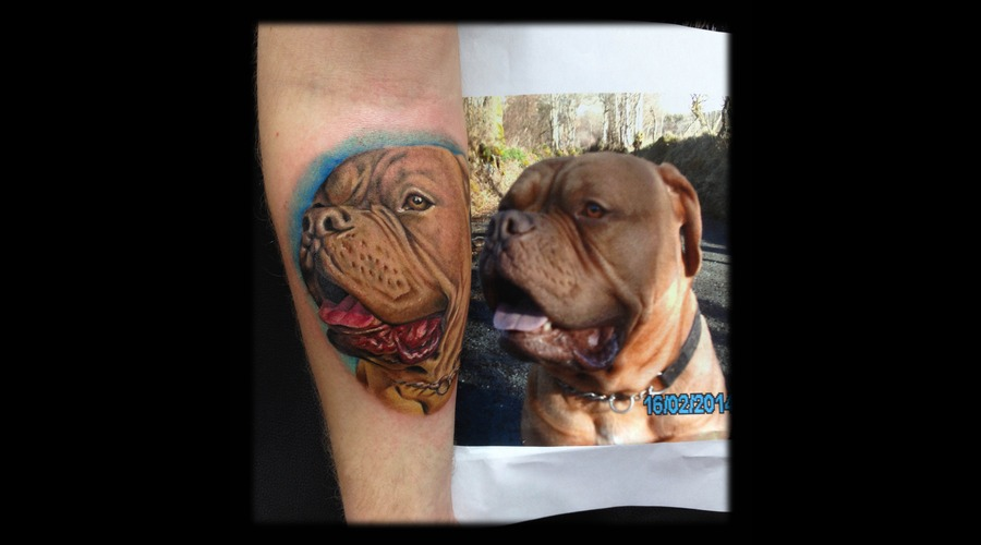 Toroktattoo Dog