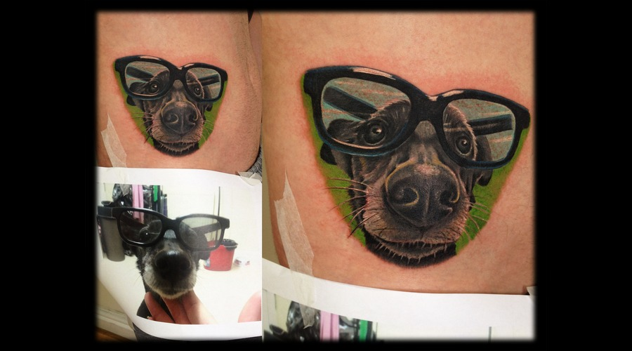 Toroktattoo Dog Hip
