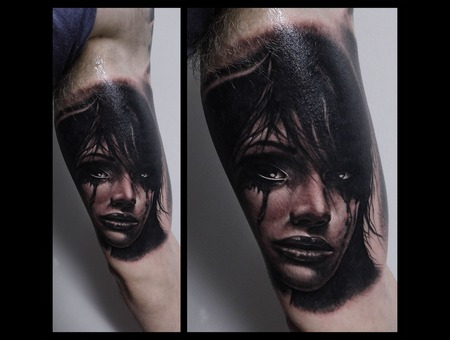 Toroktattoo Face Arm