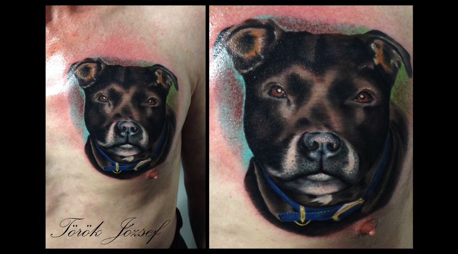 Toroktattoo Dog Chest