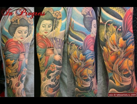 Japanase  Vasovasiko  Color  Geisha Istanbul Color Arm