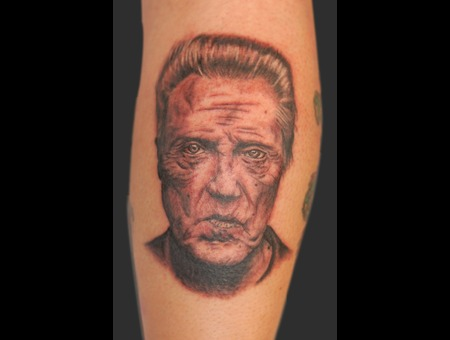 Christopher  Walken  Celebrity Portrait