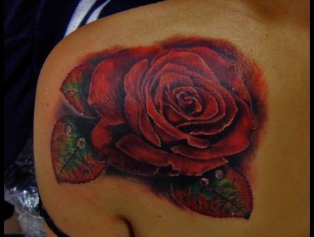 Rose Color Shoulder