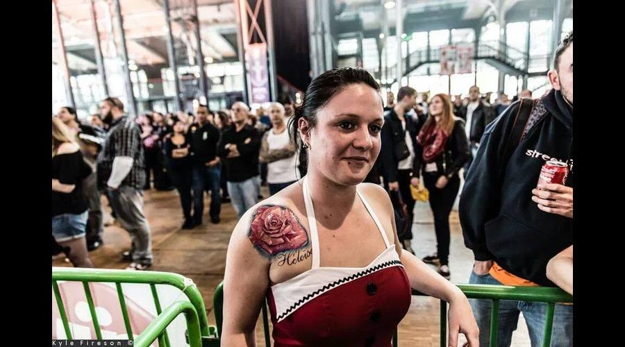 Rose Tattoo  Realistic Tattoo Color Shoulder