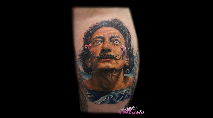 Salvador Dali  Realism  Portrait  Colourrealism Color Lower Leg