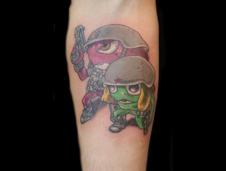 Sgt. Frog. Color Forearm