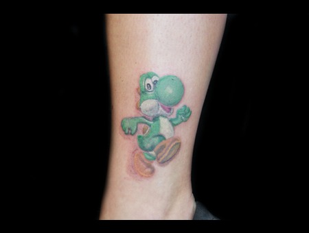 Yoshi. Color Lower Leg