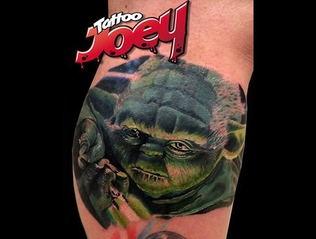 Yoda  Starwars  Color  Realistic  Realism Color Lower Leg