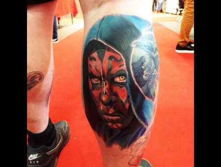 Darth Maul  Starwars  Color  Realistic  Realism   Color Lower Leg