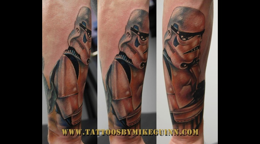 Star Wars Tattoo  Tattoos Beverly Ma Color Forearm