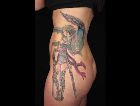 Goddess Athena Color