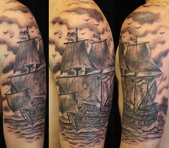 Paris pierides a certified artist for White heritage tattoos