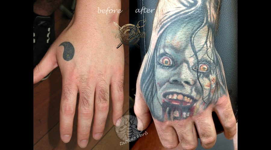 Cover Up Evil Dead  Color Arm