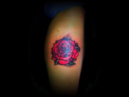 Rose Color Lower Leg