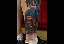 Tattoo best darth maul jerry pipkins panama city fl florida tattoo shop parlor studio tattoos