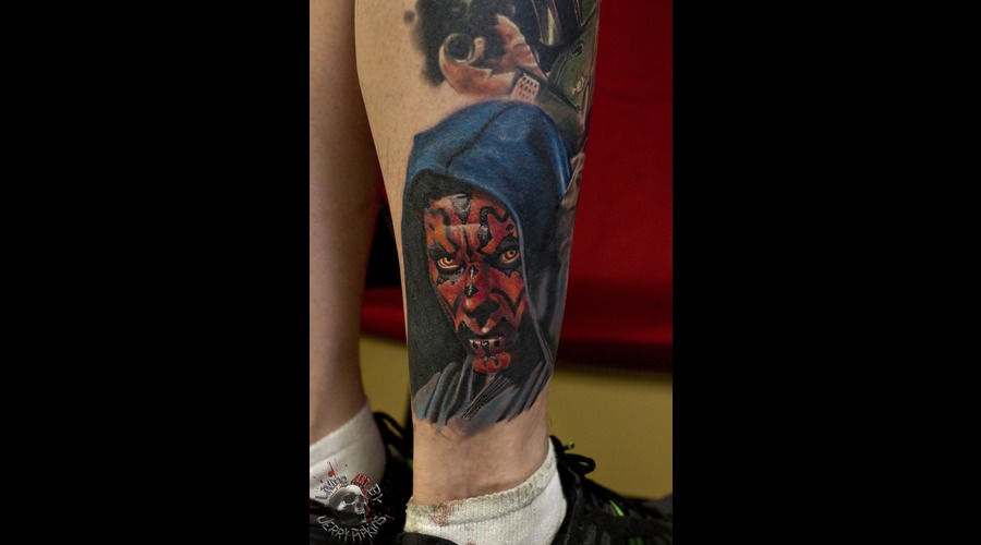 Darthmaul  Starwars  Realisitc Color Lower Leg