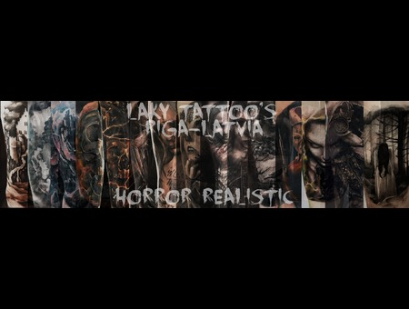 Small Collection  Laky  Laky Tattos  Horror  Realistic  Riga  Latvia  Color Arm